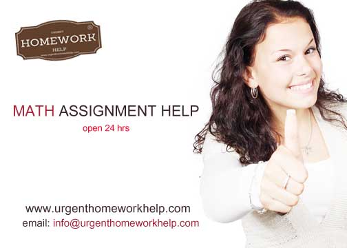 math assignment help Australia